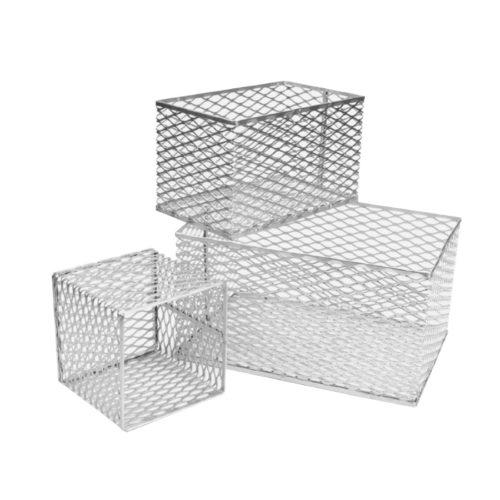 Koszyki aluminiowe na probówki i akcesoria laboratoryjne