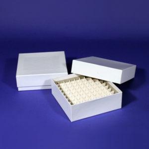 Kriopudełka z wodoodpornego kartonu z wkładem