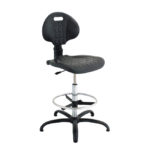 Krzesło laboratoryjne - b-8621 - krzeslo-laboratoryjne-na-slizgaczach-z-podporka-na-nogi