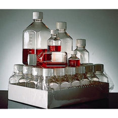 Kwadratowe butelki z PETG - 125 ml - Nalgene
