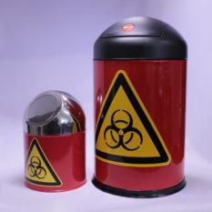 Małe pojemniki na odpady - Biohazard