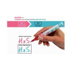 Marker z tuszem wskaźnikowym do kontroli sterylizacji tlenkiem etylenu