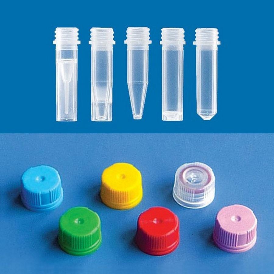 Mikroprobówki o poj. 1,5 ml do zakrętek plombujących - Brand