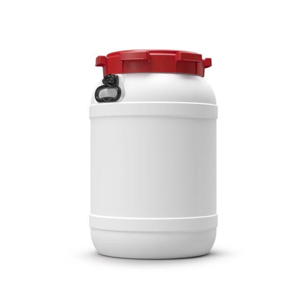 Naczynia z szeroką szyją (HDPE) i pokrywką gwintową - o poj. 3,6 l - 68,5 l