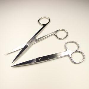 Nożyczki laboratoryjne