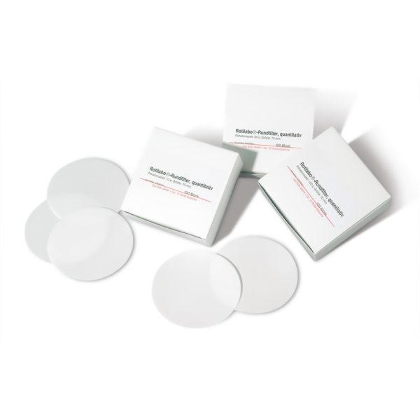 Okrągłe filtry bibułowe - typ 12A