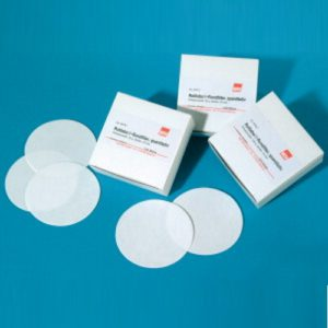 Okrągłe filtry bibułowe, typ 15A