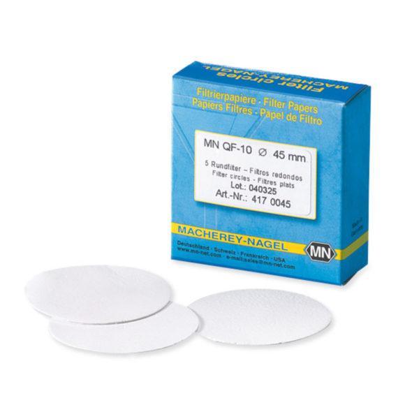 Okrągłe filtry z włókna kwarcowego - typ MN QF-10