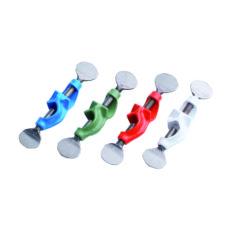 Podwójne mufki z aluminium, różne kolory