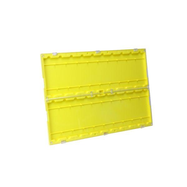 Pojemnik na szkiełka żółty
