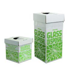 Pojemniki kartonowe do utylizacji odpadów szklanych - Bel-Art - 1