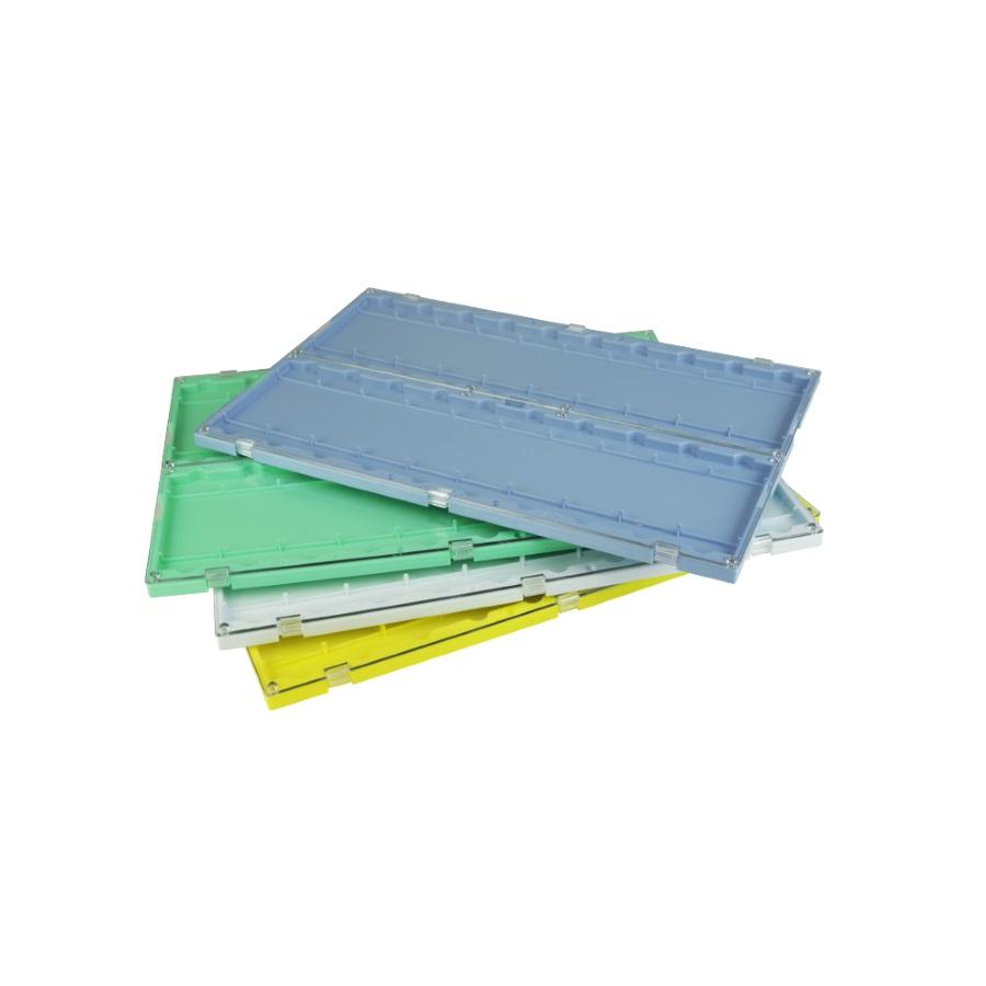 Pojemniki na szkiełka podstawowe, kolorowe