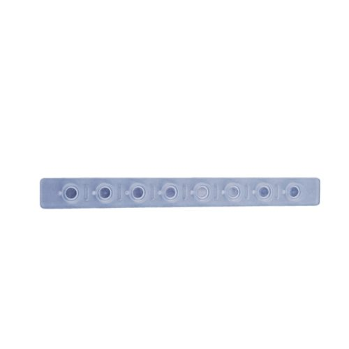 Pokrywki w paskach Optical Indented Flat Caps, 8-stanowiskowe