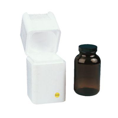 Pudełko ochronne na pojedynczą butelkę