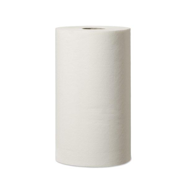 Ręczniki papierowe na rolce białe