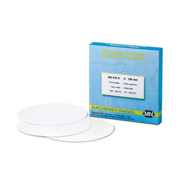 Sączki filtracyjne z bibuły - bezfosforanowe - typ MN 619 G