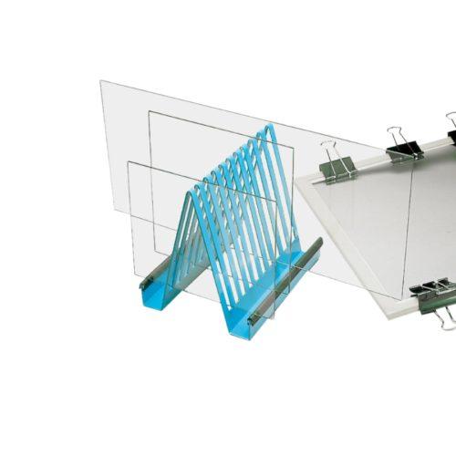 Statyw na płytki do elektroforezy