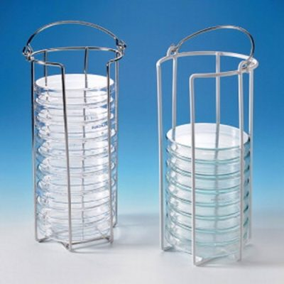 Statywy na szalki Petriego