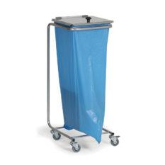 Stojak na worki na odpady, ruchomy
