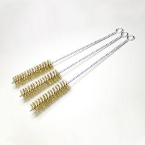 Szczotka laboratoryjna - włosie z mosiądzu