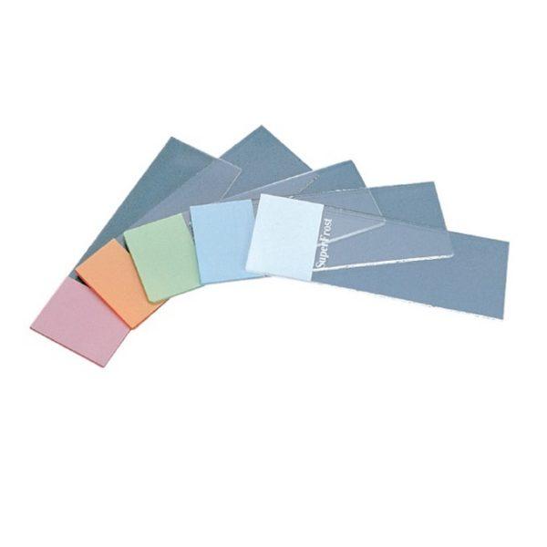 Szkiełka mikroskopowe podstawowe SuperFrost z kolorowym polem do opisu (Menzel-Glaser)