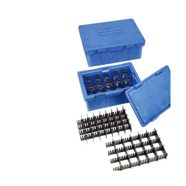 Termiczne pudełko transportowe z wkładami na butelki - Overath