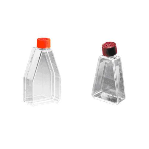 Trójkątne butelki do hodowli komórkowych - Corning