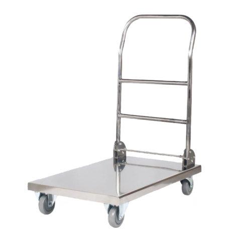 Wózek laboratoryjny składany