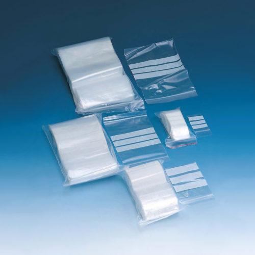 Woreczki na próbki z wytrzymałego LDPE