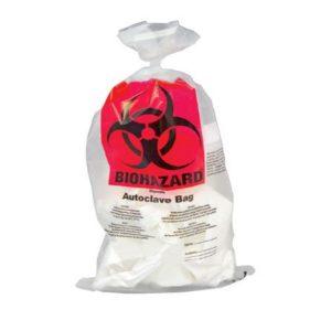 Worki na odpady niebezpieczne BIOHAZARD