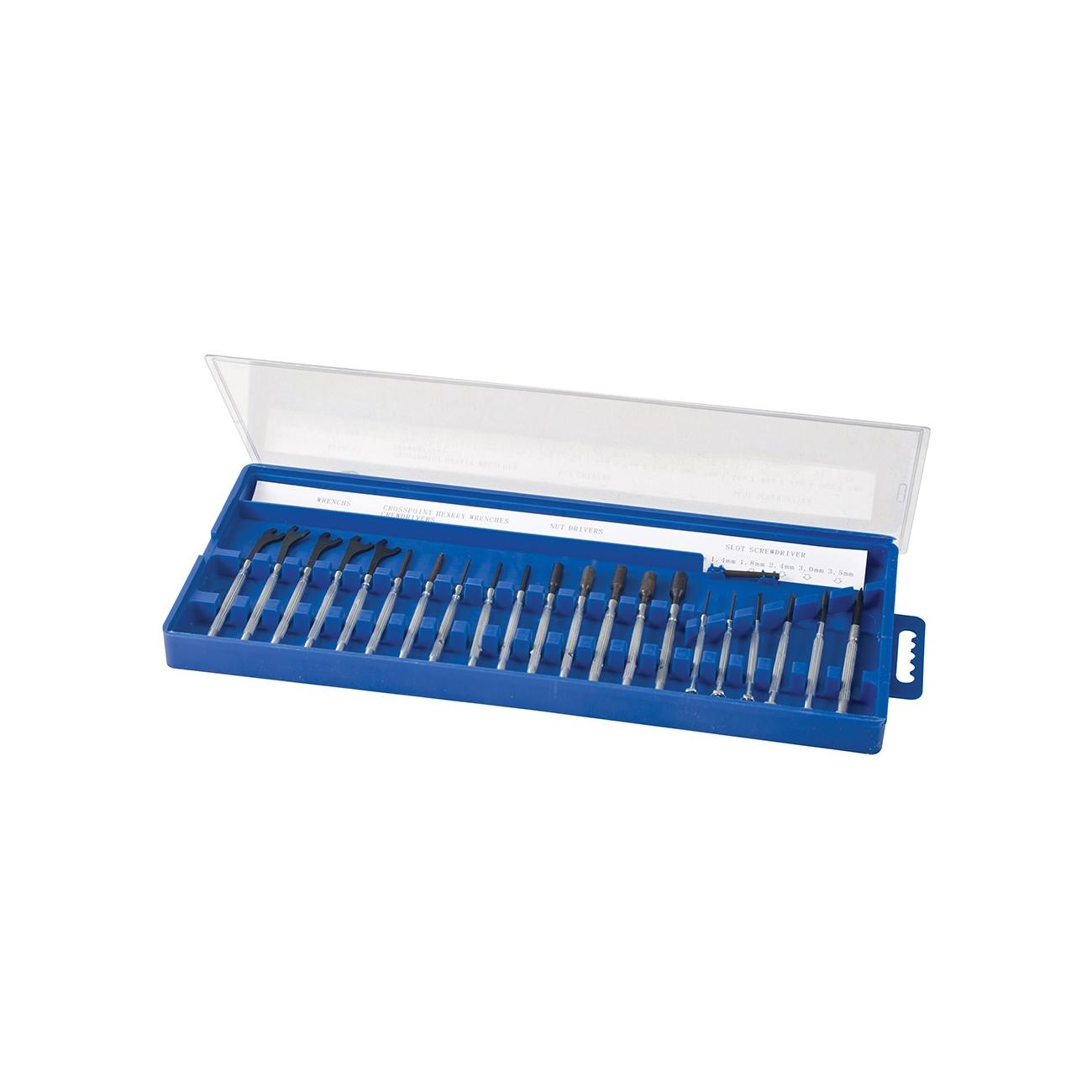 Zestaw małych śrubokrętów - 22-częściowy