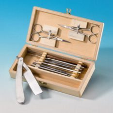 Zestaw narzędzi preparacyjnych, mały