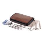 Zestaw narzędzi preparacyjnych w etui - b-0399 - narzedzia-preparacyjne-w-etui-zestaw-12-czesciowy