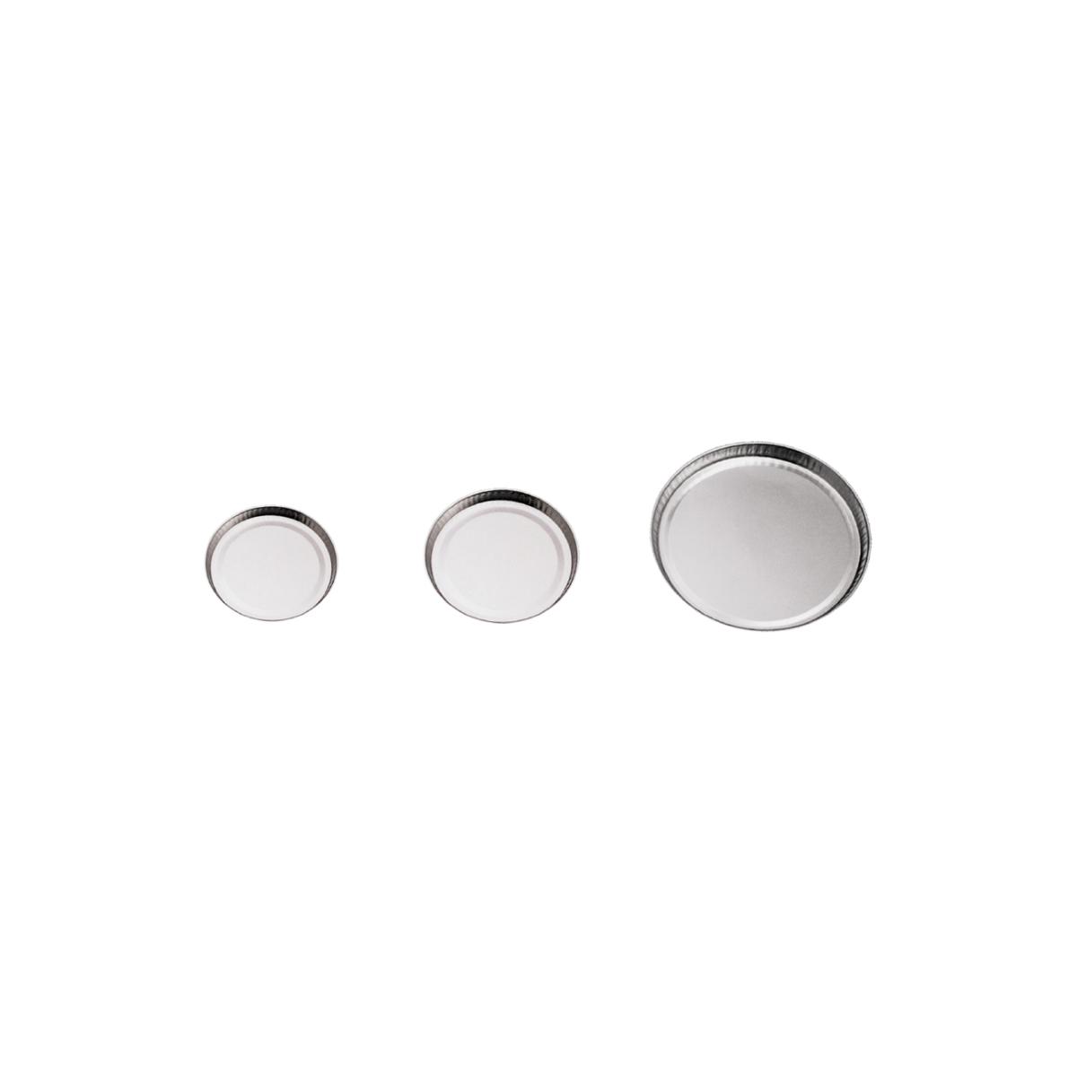 Aluminiowe szalki wagowe do określania wilgotności