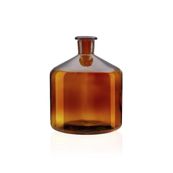 Butelka do biuret - oranżowa - 1