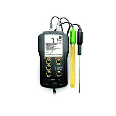 Cyfrowe mierniki pHmV°C HI 83141 i HI 8314 N (firmy Hanna Instruments)