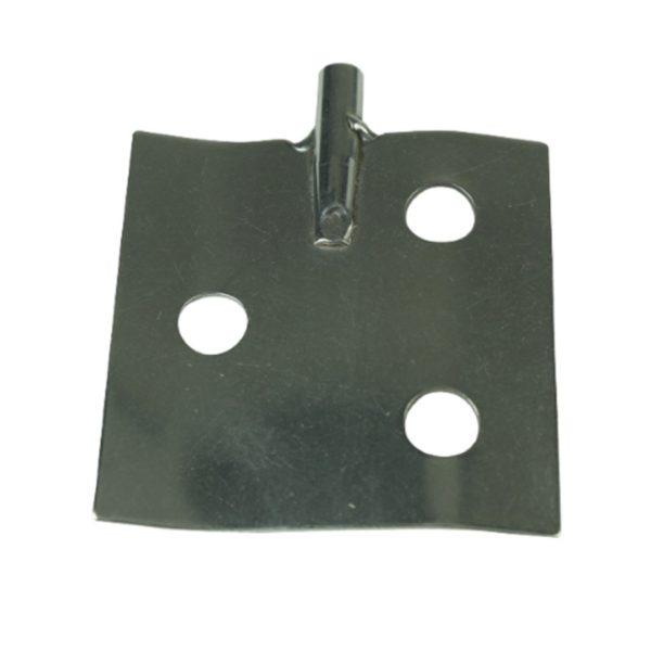 Dla prętów - średnica 6 mm łopatka z 3 otworami 70 mm