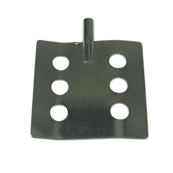 Dla prętów - średnica 6 mm łopatka z 6 otworami 70 mm