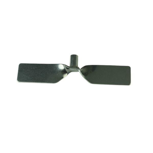 Dla prętów - średnica 8 mm łopatka wygięta pod kątem, sztywna 100 mm