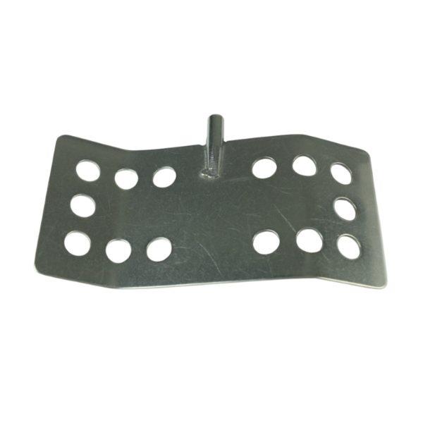 Dla prętów - średnica 8 mm łopatka z 14 otworami 150 mm