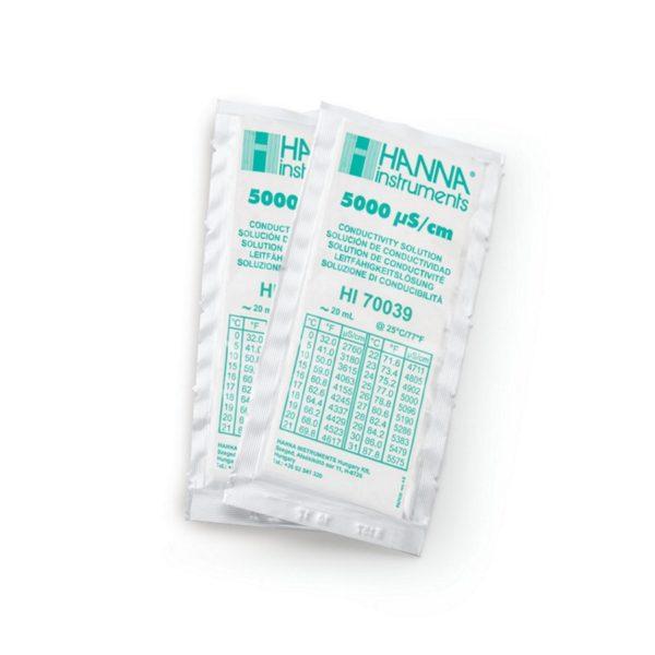 Hanna Instruments HI 70039C roztwory do pomiaru przewodnictwa