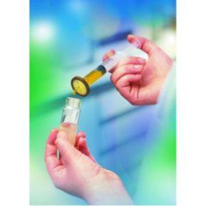 Jednorazowe filtry do strzykawek dla HPLC, celuloza regenerowana, śr. membrany 30 mm