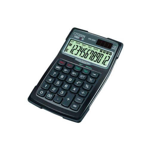 Kieszonkowy kalkulator Citizen WR-3000