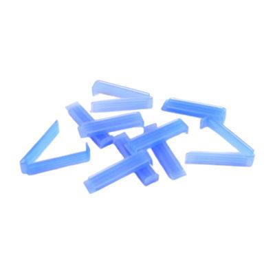 Płaskie klipsy zamykające Mediclips do membran do dializy