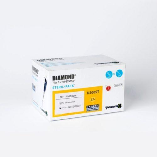 Końcówki Diamond do pipet Gilson - Sterilpack (pakowane indywidualnie)
