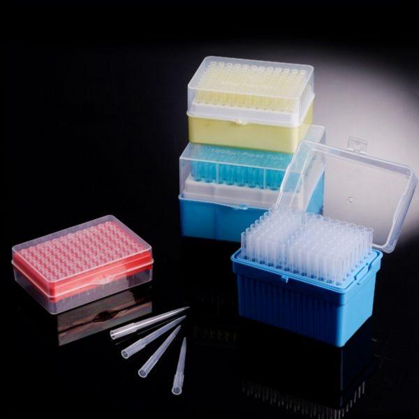 Końcówki do pipet - sterylne - w pudełkach