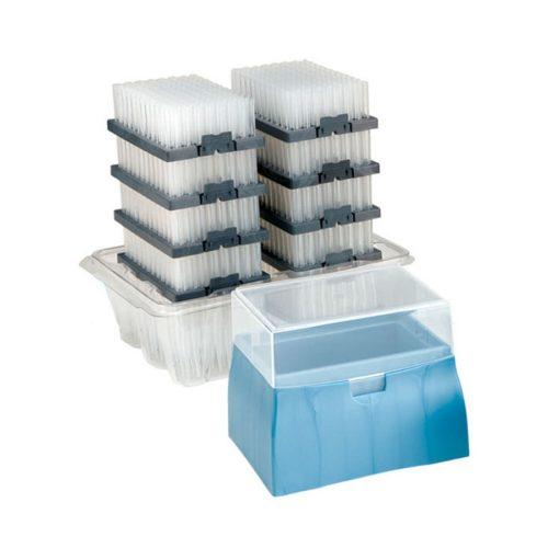 Końcówki do pipet w pudełku z możliwością ponownego napełnienia - Sorenson