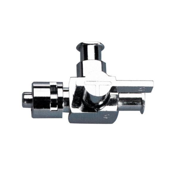Kranik metalowy z przyłączami Luer-Lock - 2-6286