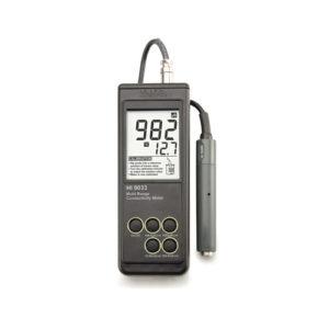 Miernik przewodności HI 9033 (firmy Hanna Instruments)