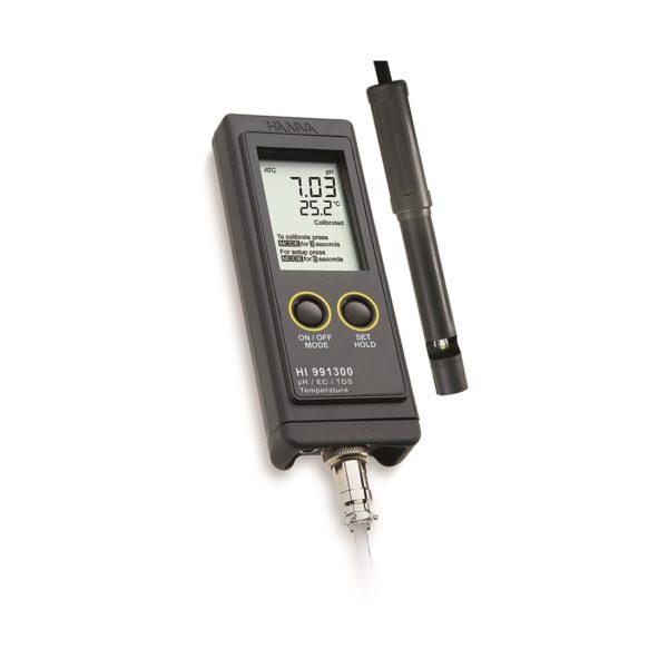 Mierniki wielofunkcyjne HI 991300 i HI 991301 (firmy Hanna Instruments)